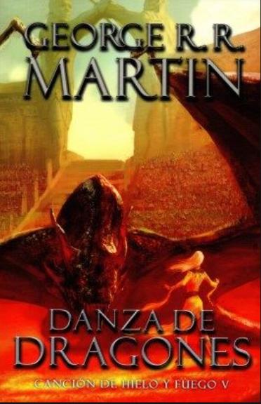 Danza de Dragones libro 5 Libros George RR Martin