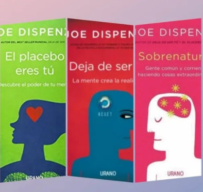Coleccion Joe Dispenza x 3 Placebo+deja de ser tu+ sobrenatural