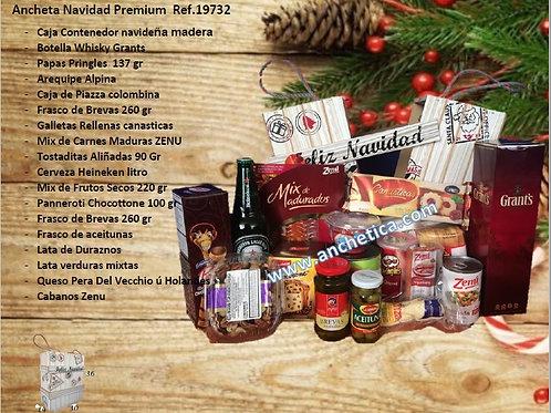 Ancheta Navideña Caja Navidad Super ejecutiva