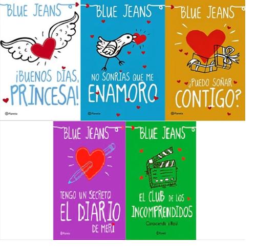 Colección Buenos Dias Princesa x 5 libros Blue Jeans