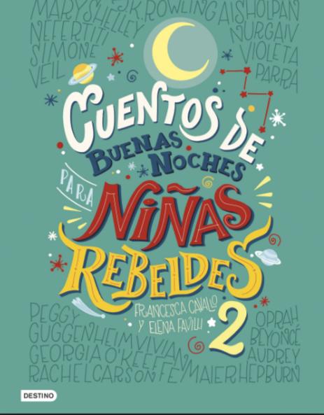 ORIGINAL Cuentos Buenas Noches Niñas Rebeldes 2 A Color