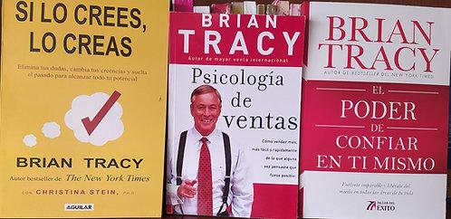 Colección Libros Brian Tracy Si Lo Crees Lo Creas +Psicologia + Poder