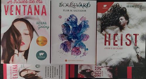A traves  De Mi Ventana  +  Heist + Boulevar