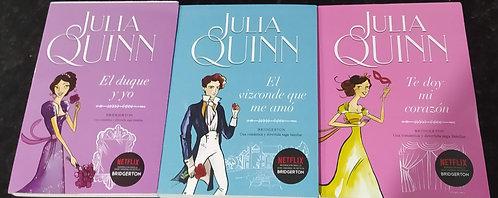 Trilogia Julia Quinn ( 3 primeros libros) Bridgerton