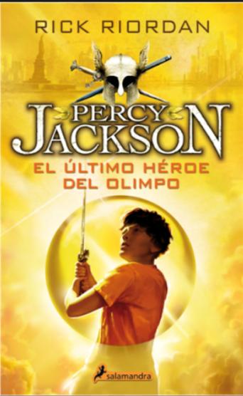 Percy Jackson El Ultimo Heroe del Laberinto Libro Rick Riordan