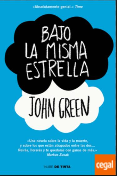 Bajo La Misma Estrella Libros John Green