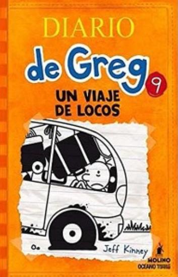 Diario de Greg libro 9 libro: Jeff Kinney