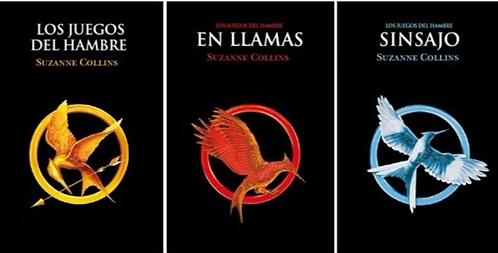 Trilogia Juegos del Hambre x 3 libros