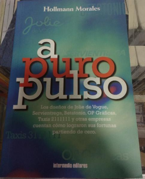 A Puro Pulso Libro Hollman Morales