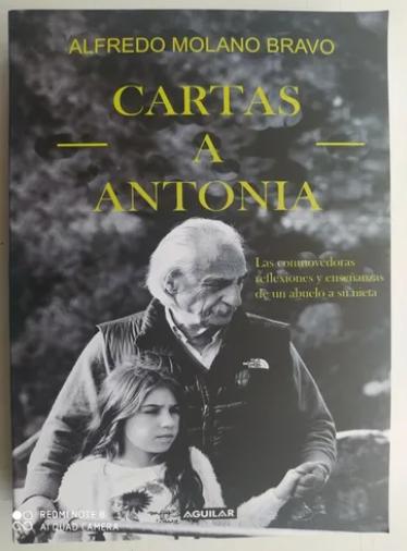 Cartas A Antonia Libro Autor: Alfredo Molano