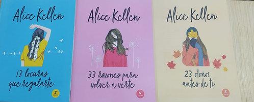 13 Locuras Que Regalarte + 33 Razones pata volver + 23 Otoños  Alice Kellen