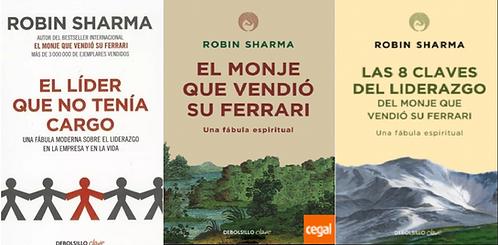 Colección Robin Sharma x 3 libros