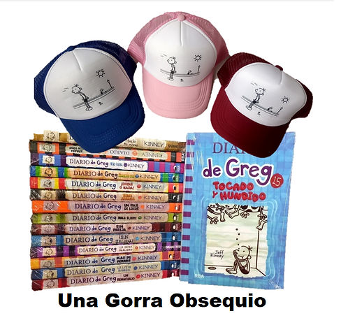 Colección Diarios de Greg x 15 (INCLUYE GREG 15)