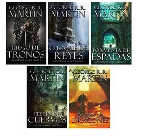 Colección juego de tronos / Cancion de hielo y fuego Libros George RR Martin
