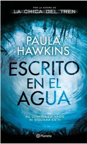 Esscritos en el Agua Libro Paula Hawkins