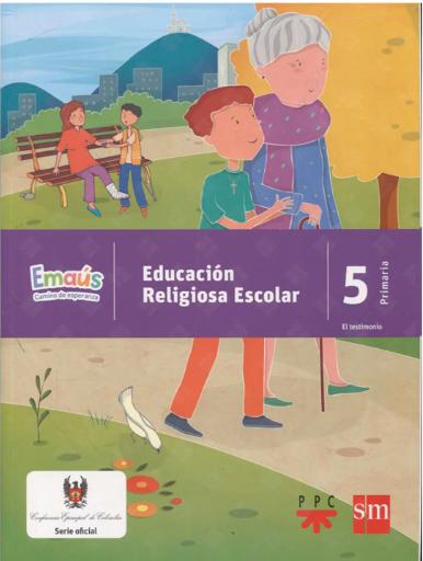 EMAÚS 5. Emaus CAMINO DE ESPERANZA - EDUCACIÓN RELIGIOSA ESCOLAR/copia