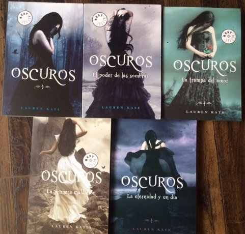 Colección Los Oscuros x 5 libros + Envio