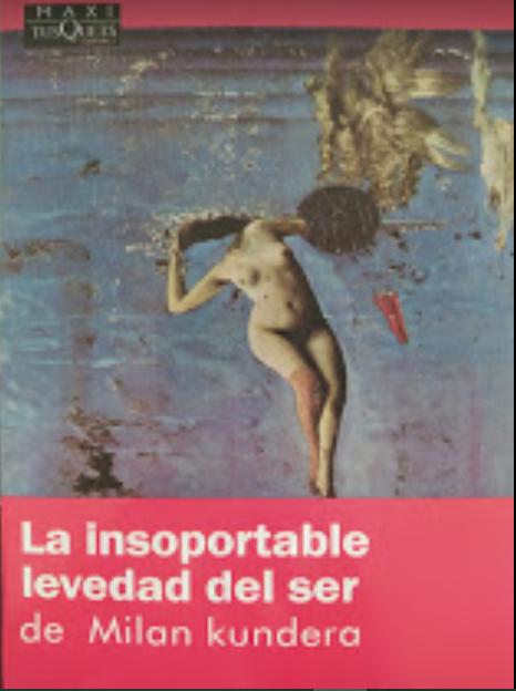 La Insoportable Levedad Del Ser Autor: Milan Kundera