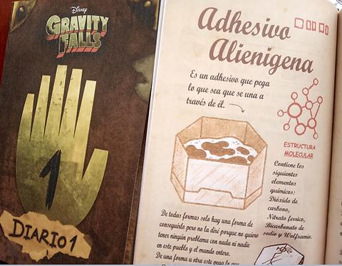 Gravity Falls Diario 1 y 2 Revistillas   Color Autor: Alex HirschLibroa