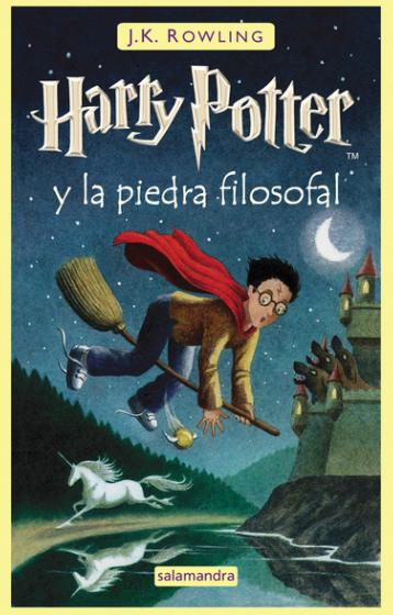 Harry Potter libro 1 La piedra Filosofal Autor: J.K. Rowling