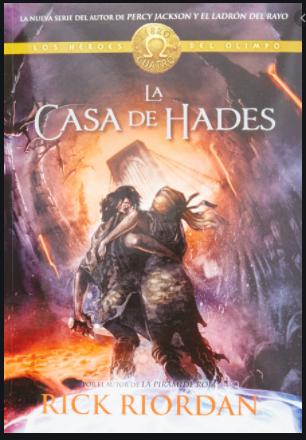 La Casa de Hades  Saga Percy Jackson Libro Rick Riordan
