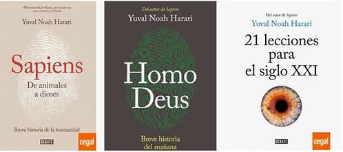 Colección Yuval Noah Harari x 3 libros