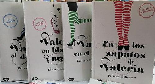 Colección En Los Zapatos de Valeria Autor: Elizabet Benavent