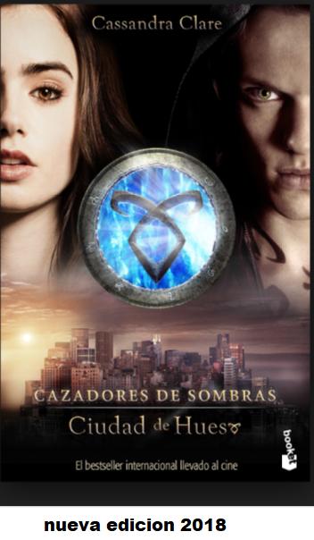 Cazadores De Sombras Ciudad de Hueso libro Cassandra Clare
