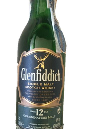 Whisky Glenfiddich De Colección 50 ml Ref 19100