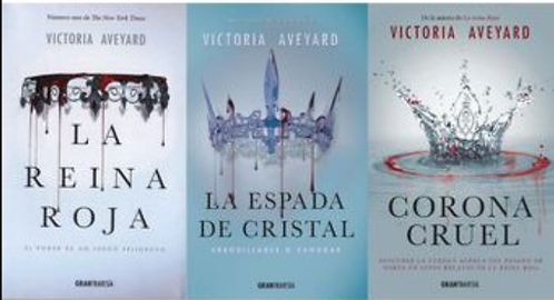 Trilogía Reina Roja x 3 libros Victoria Aveyard