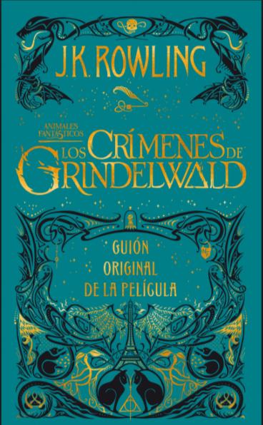 Los Crimenes de Grindelwald libro: J.K. Rowling libro Harry 10