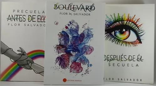 Trilogia Boulevard  + Despues De El  + Antes De Ella Autor Flor M Salvador