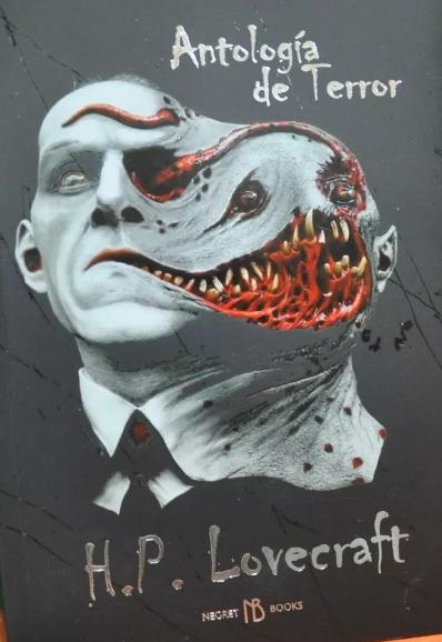 Antologia de terrror HP Lovecraft Ilustrado Color Original