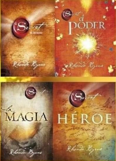 Coleccion x 4  Libros Rhonda Byrne (El Secrero, Poder, Heroe y Magia)