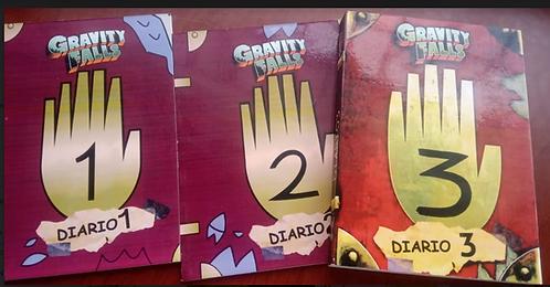 Diario 1, 2, 3 Gravity Falls Autor: Alex Hirsch