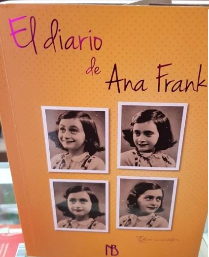 El diario de Ana Frank Ilustrado Color Original
