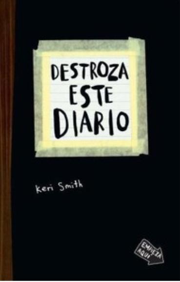 Destroza este Diario  Libro Keri Smith