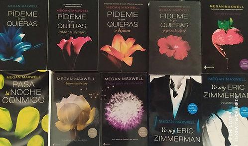 Coleccion Pideme lo Que Quieras x 10libros  Saga Megan Maxwell