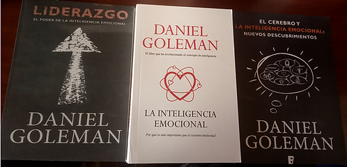 Colección Libros Daniel Goleman Bet seller