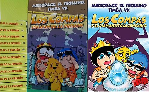 Los Compas 1 y 2 Color: El Diamantito Legendario y escapan de Prision  Mikecrack