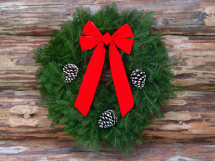 "72"" Balsam Wreath"
