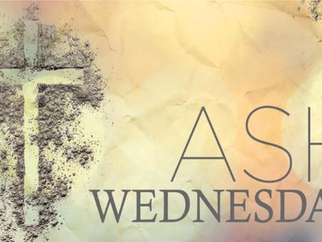 Ash Wednesday Mass Times