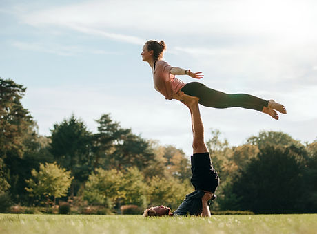 Outdoor Acroyoga Session