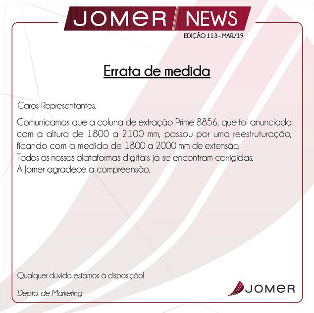 Jomer News Ed. 113