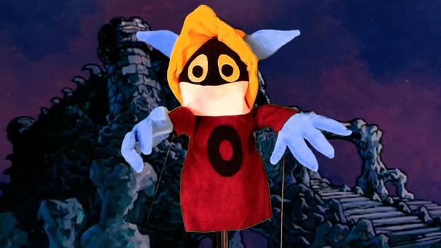 Orko doing spells