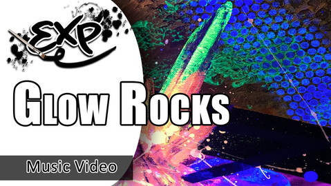 Glow Rocks Painting Demo