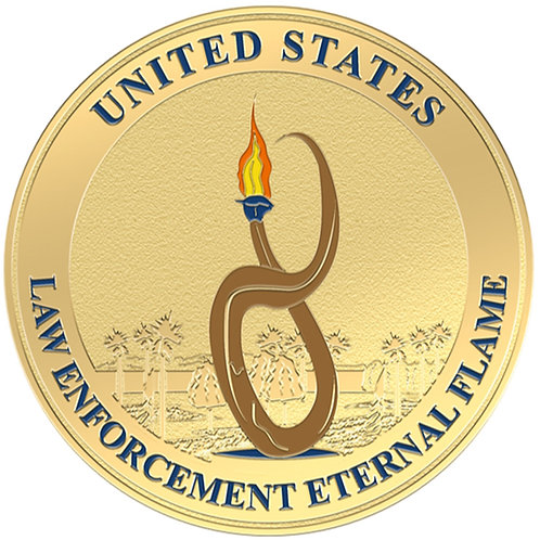 Eternal Flame Challenge Coin
