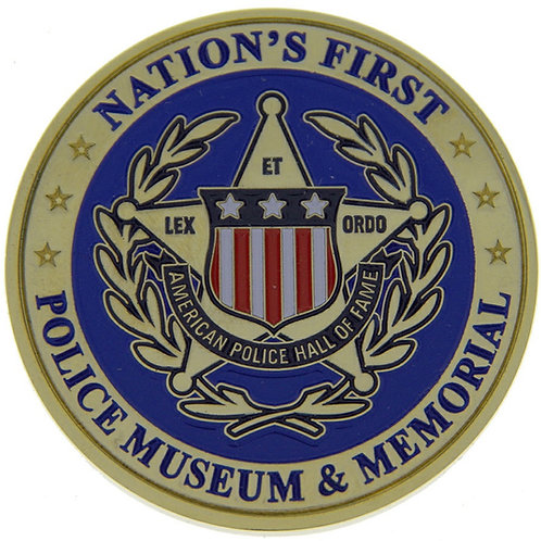 American Police Hall of Fame Challenge Coin