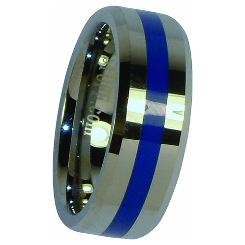 Blue Line Ring