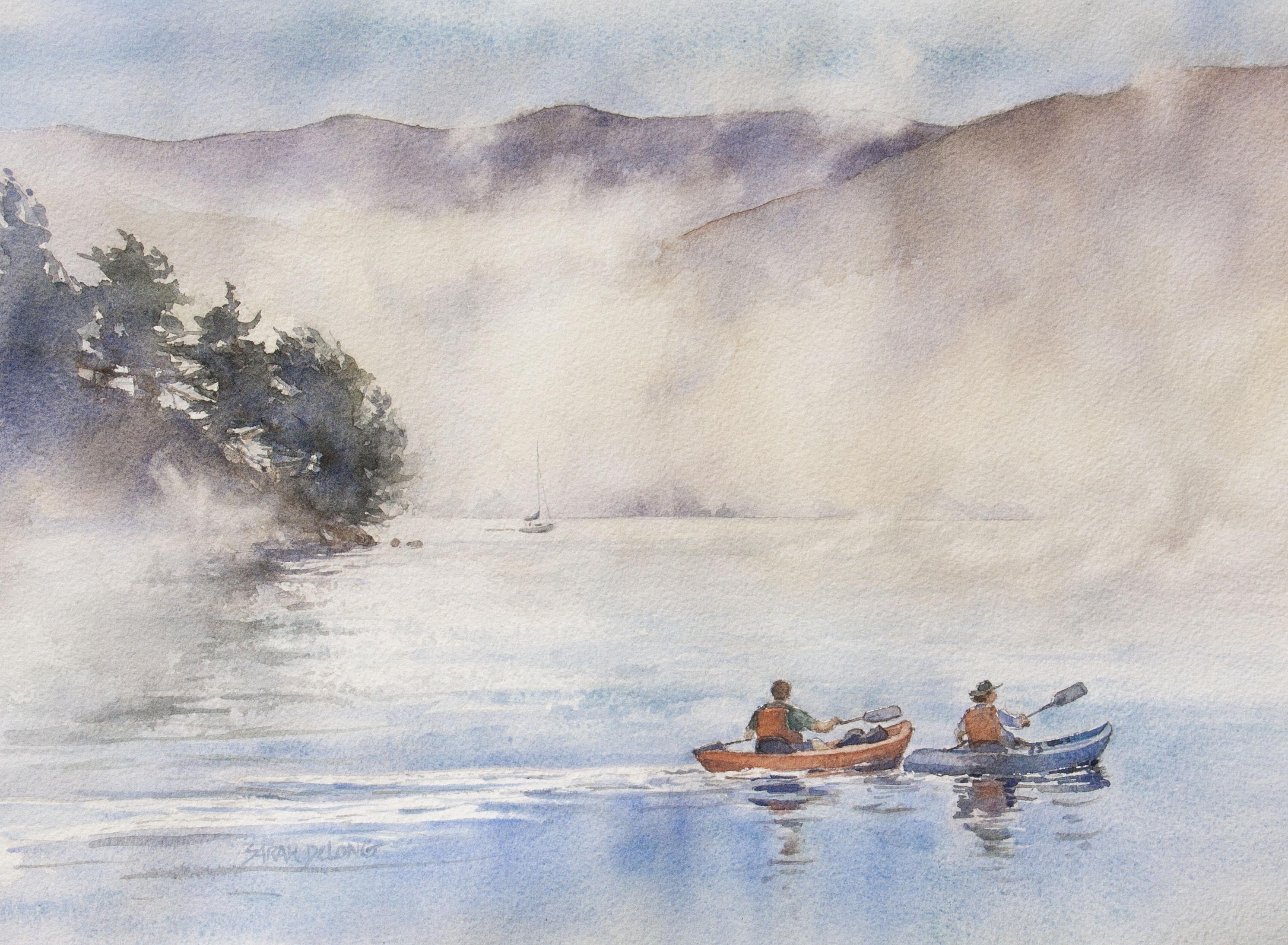 Misty Morning Paddle